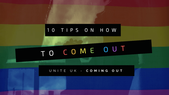 10 Tips On How To Come Out
