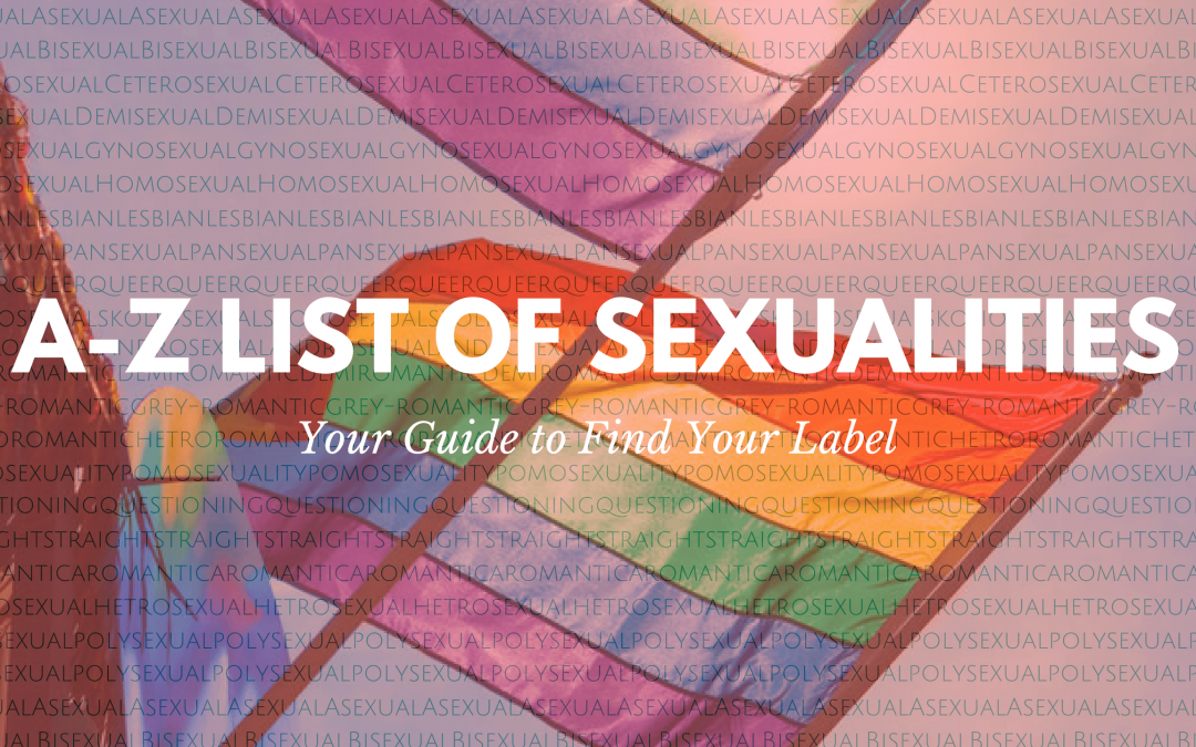 A-Z list of sexualities